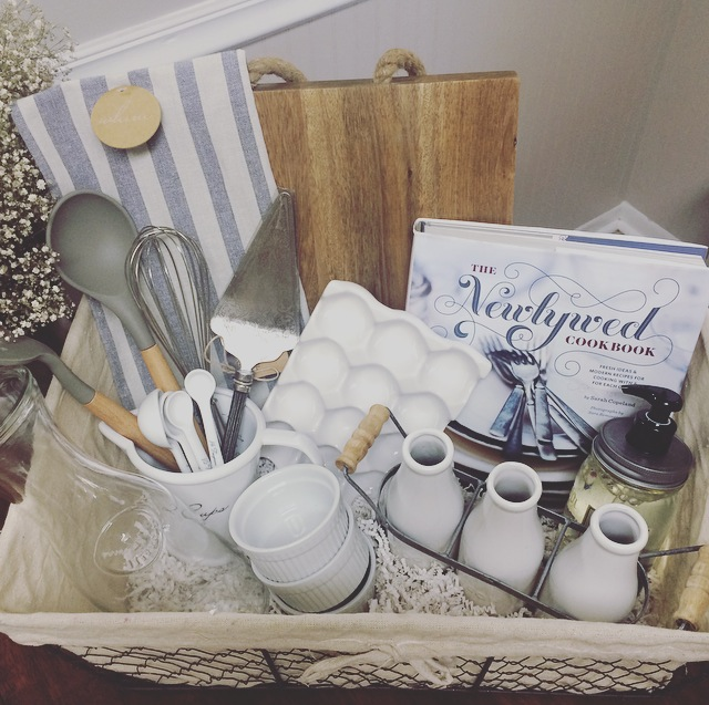 Ideas For Wedding Gift: A DIY Wedding Gift Basket